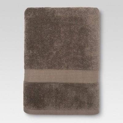 Performance Solid Bath Towel River Birch - Threshold™