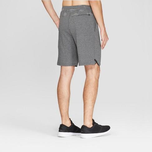 c57f9d9bbaf1 Men s Jacquard Training Shorts - C9 Champion® Asphalt Gray Heather S    Target