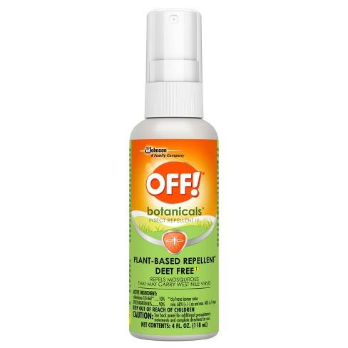 Off Botanicals Plant Based Deet Free Insect Repellent Iv 4 Fl