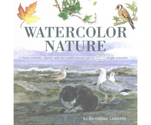 Watercolor Nature : A Step-by-step Guide (Paperback) (Amandine Labarre) - image 1 of 1