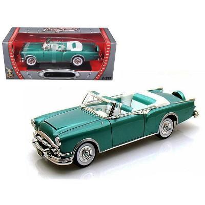 1953 Packard Caribbean Green 1/18 Diecast Car Model by Road Signature