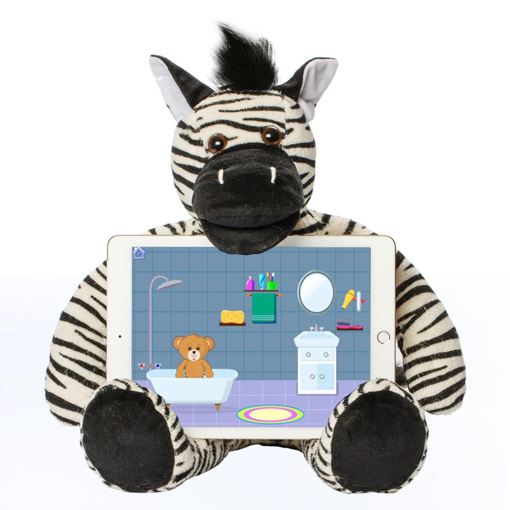 Bluebee Pals Pro Interactive Learning Tool - Riley The Zebra