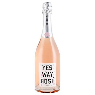 Yes Way Brut Rosé Sparkling Wine - 750ml Bottle