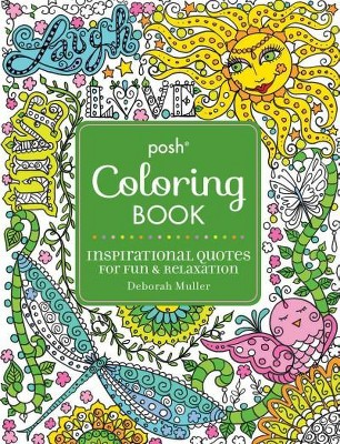 Inspirational Quotes Adult Coloring Book For Fun Relaxation Target