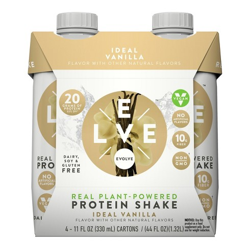 Evolve Real Plant-Powered Protein Shake - Ideal Vanilla - 11 fl oz - image 1 of 1