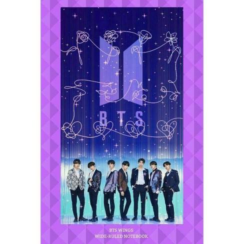BTS Wings Wide-Ruled Notebook - by Bts Fan Club (Paperback)