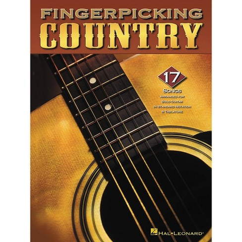 Hal Leonard Fingerpicking Country Guitar Tab Songbook - image 1 of 1