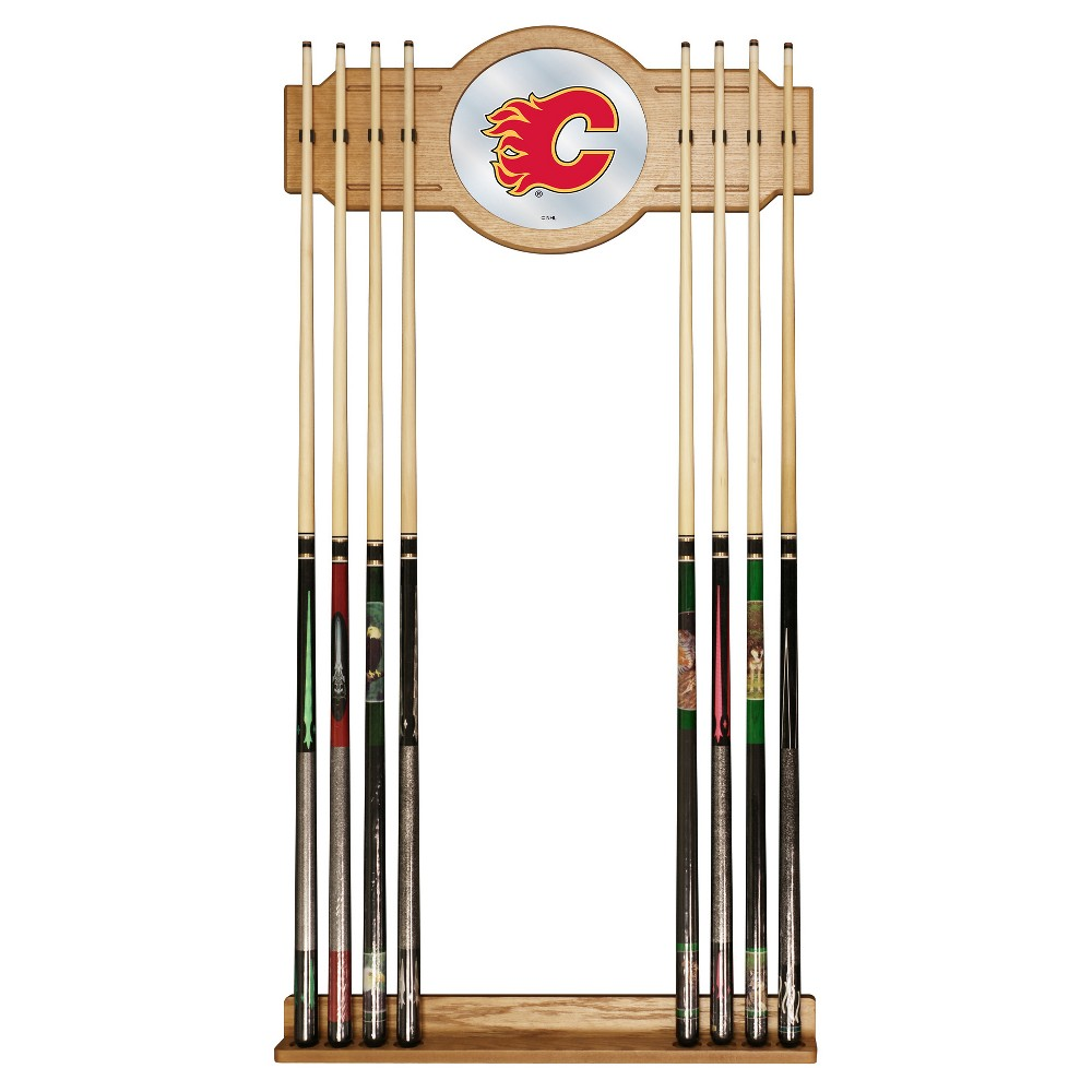 ACE/NORTH HILLS Calgary Flames Cue Rack with Mirror