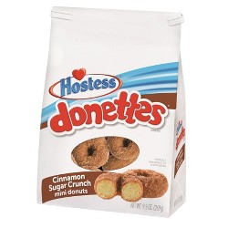 Hostess Cinnamon Sugar Crunch Donettes - 9.5oz
