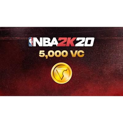 NBA 2K20: 5,000 VC - Nintendo Switch (Digital)