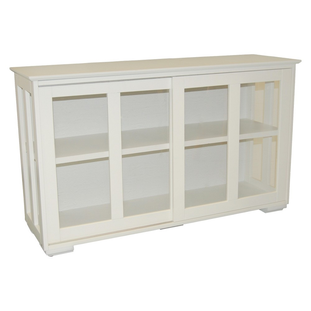 Upc 024319835627 Simple Living Glass Door Stackable Cabinet
