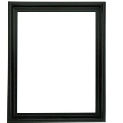 """Creative Mark Illusions Floater Frame for 0.75"""" Depth Stretched Canvas Paintings & Artwork - Black"""