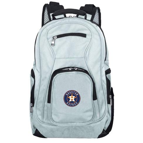 MLB Houston Astros Gray Laptop Backpack - image 1 of 4