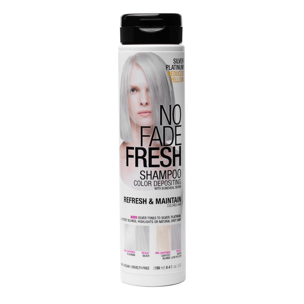Image of No Fade Fresh Color Depositing Shampoo - Silver