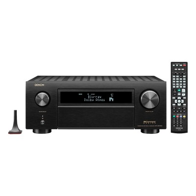 Denon AVR-X6700H 11.2-Channel 8K AV Receiver with 3D Audio and Amazon Alexa Voice Control