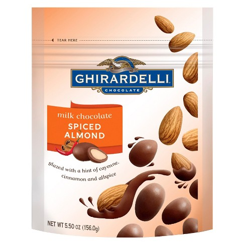 Ghirardelli Milk Chocolate Spiced Almond - 5.5oz - image 1 of 1