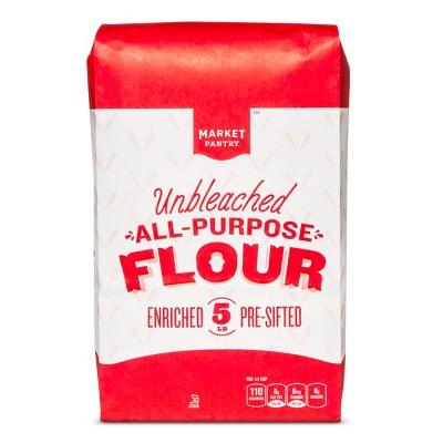 Flours & Meals: Market Pantry Unbleached All Purpose Flour