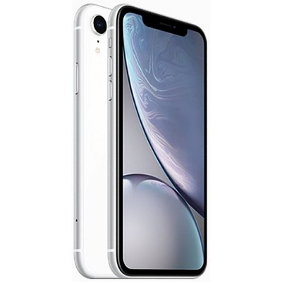 Apple iPhone Unlocked XR (256GB) GSM/CDMA Phone - White