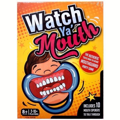 Watch Ya Mouth Board Game - image 1 of 2