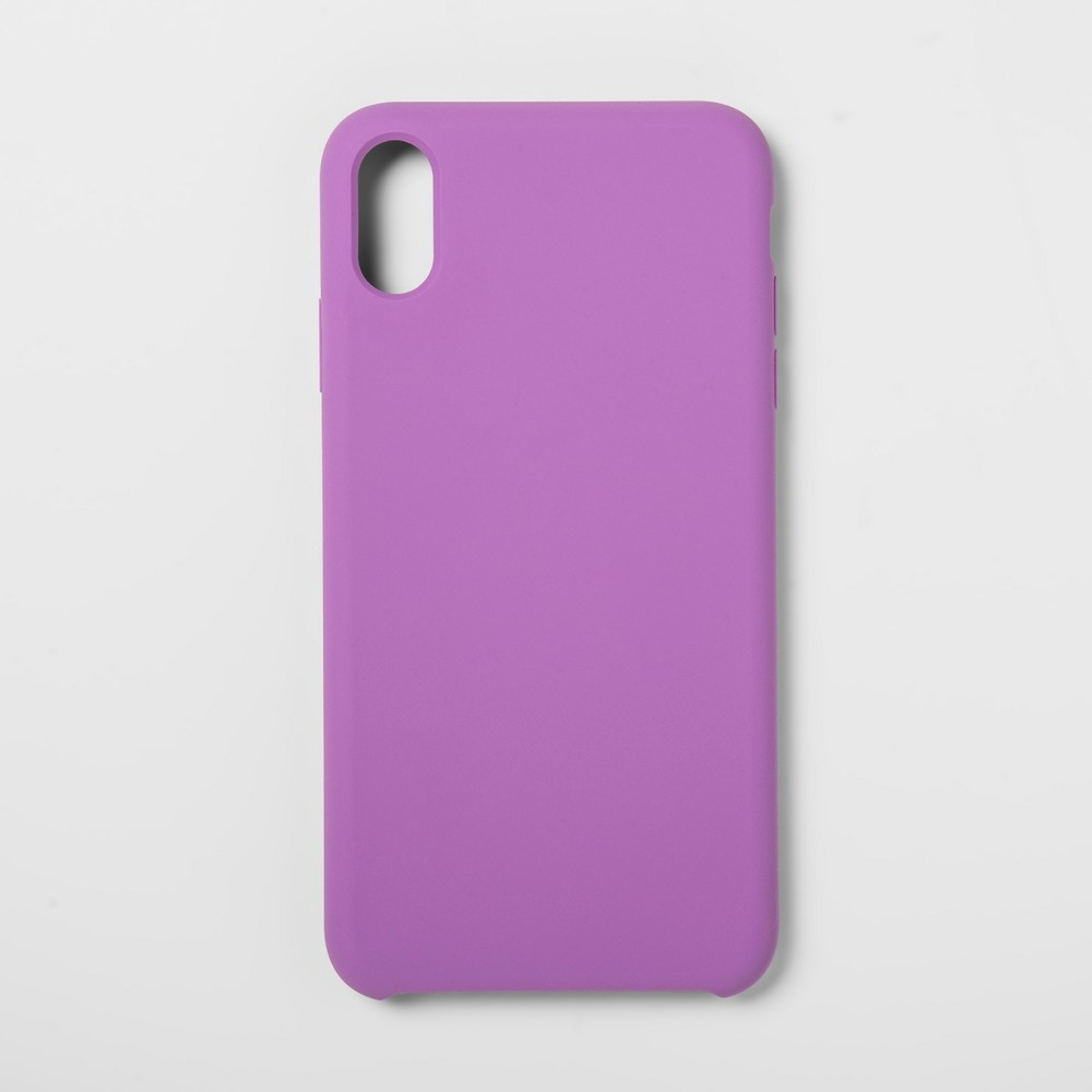 heyday Apple iPhone XS Max Silicone Case - Lilac (Purple)