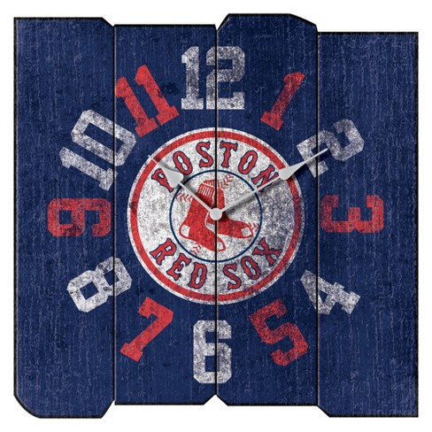 Boston Red Sox Imperial Square Vintage Wall Clock