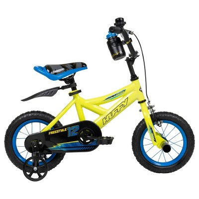 "Huffy Ultima 12"" Kids' Bike - Yellow"