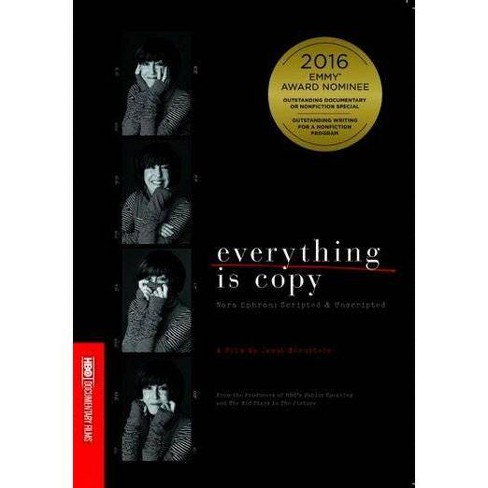 Everything Is Copy: Nora Ephron (DVD) - image 1 of 1
