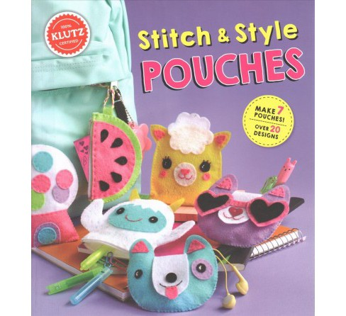 Stitch & Style Pouches (Hardcover) - image 1 of 1