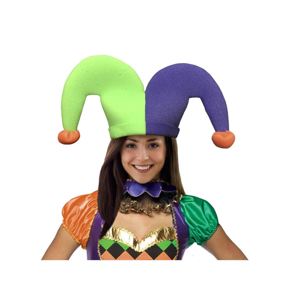 Image of Adult Jester Halloween Hat, Adult Unisex