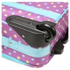 "Laura Ashley 19"" Rolling Suitcase - Polka Dot Print - image 3 of 4"