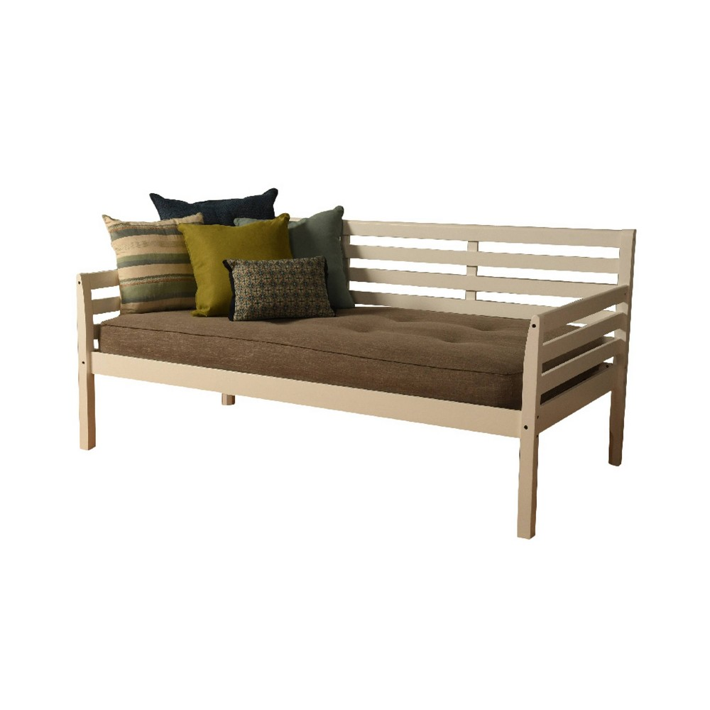 Yorkville Daybed Includes Mattress Stone (Grey) - Dual Comfort