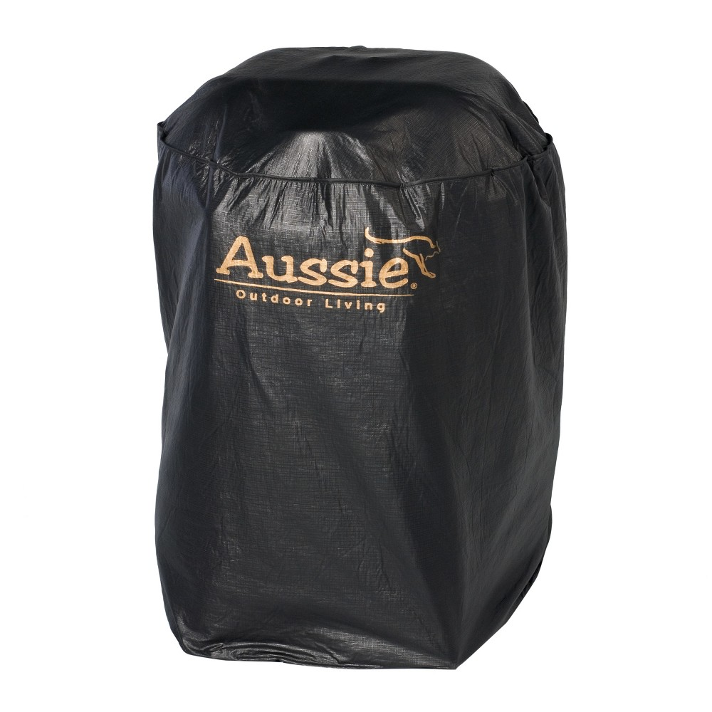 "Image of ""Aussie 27"""" PVC Grill Cover - Black 1711.7.001"""