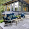 Leala Texture Deep Seat Outdoor Cushion Set - Arden Selections - image 2 of 2