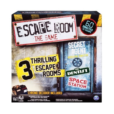 Escape Room Version 3 Board Game