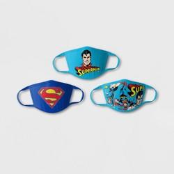 Kids' 3pk Superman Face Mask