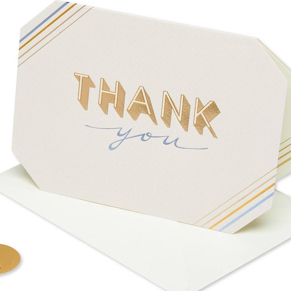 Simple Elegant Thank You Card Papyrus