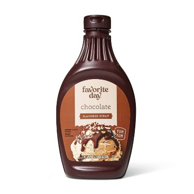 Chocolate Flavored Syrup - 24oz - Favorite Day™