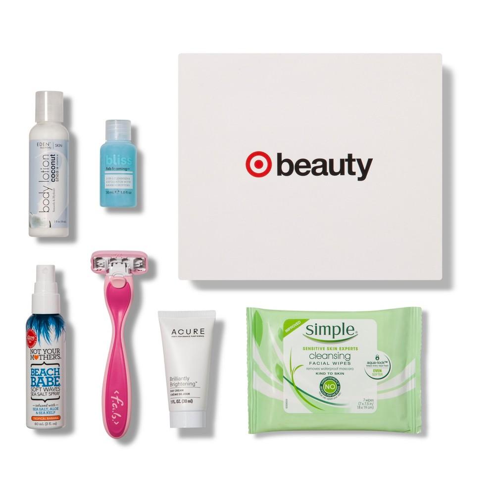 Target Beauty Box - August Target Beauty Box - August Gender: unisex.