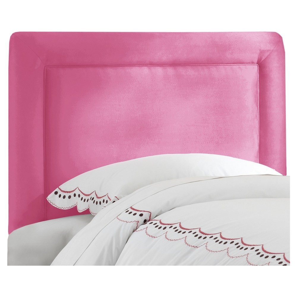 Twin Kids Border Headboard Hot Pink - Pillowfort