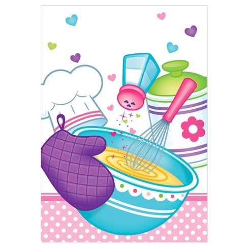 8ct Little Chef Favor Bags - image 1 of 2