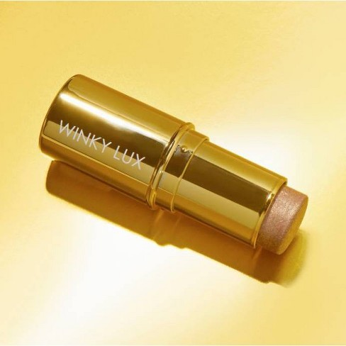 Winky Lux Face and Body Shimmer Stick - Gold - 0.45oz - image 1 of 4