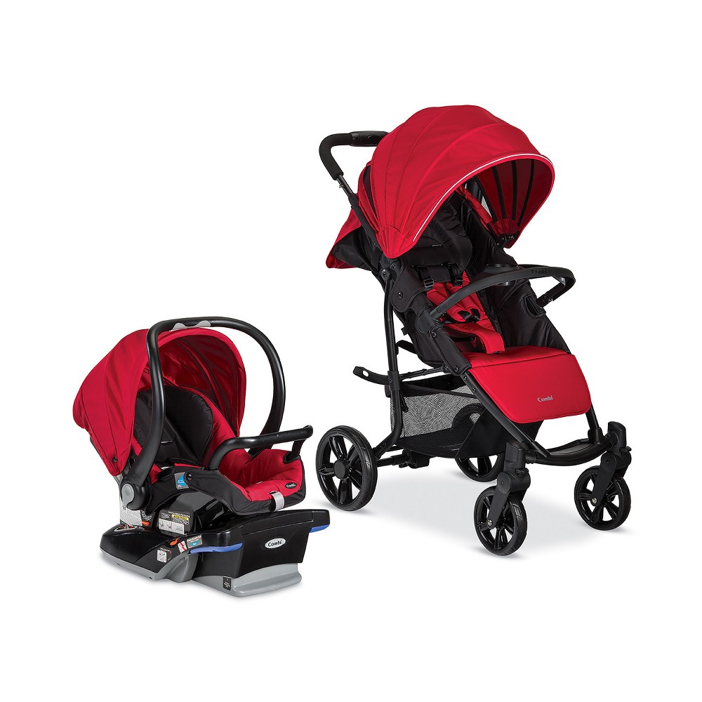 Image of Combi Shuttle Travel System - Red Chili, Red Red