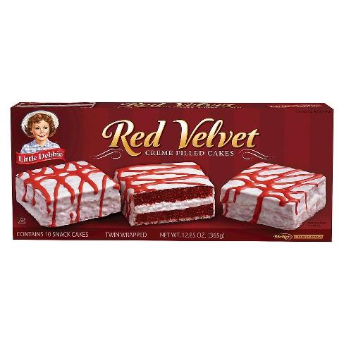 Little Debbie Red Velvet Cake Creme Filled 12.85OZ - image 1 of 1