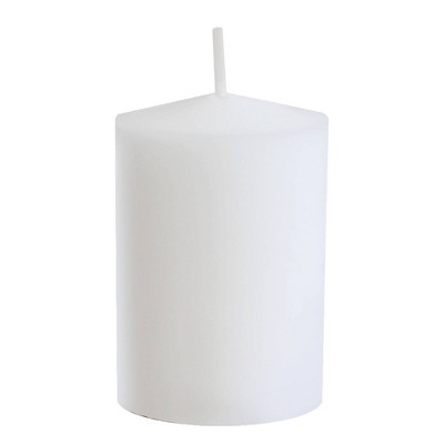 36ct 15-Hour Votive Candles White