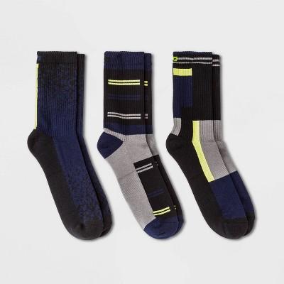 Pair of Thieves Men's 3pk Cushion Crew Athletic Socks