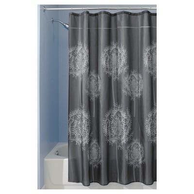 Dandelion Shower Curtain Gray - InterDesign