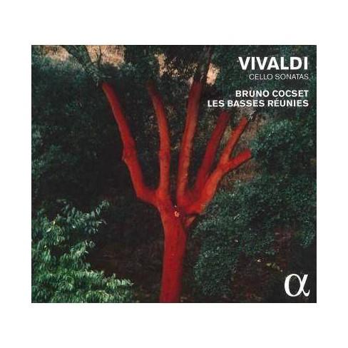 Bruno Cocset - Vivaldi: Cello Sonatas (CD) - image 1 of 1