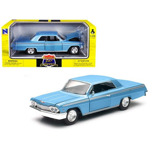 1962 Chevrolet Impala SS Blue 1/25 Diecast Model Car by New Ray - image 1 of 1