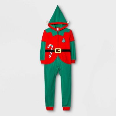 Kids' Elf Pajama Jumpsuit - Cat & Jack™ Red
