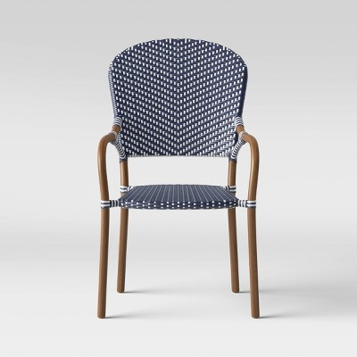 French Café Wicker Stack Patio Chair - Threshold™